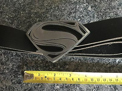Superman Leather Buclke and Belt