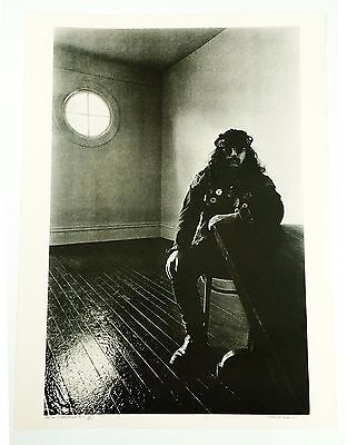 Grateful Dead / Pigpen - BOB SEIDEMANN - LARGE B&W SIGNED Print 1967 8/500