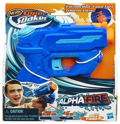Nerf Supersoaker Water Pistol Alphafire NEW