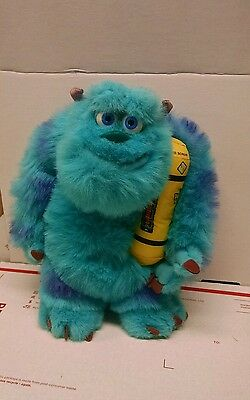"""Monsters Inc Glowing Sulley Bedtime Light Up Talking Plush Stuffed Sully 14"""""""