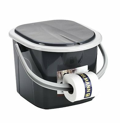Camping 15.5 Litre Travel/Camping Outdoor Toilet Pail