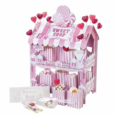 Mini Sweet Shop Stand Candy Buffet Stand Birthday Hen Party Wedding Candy Buffet