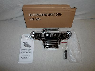 New ! Child* Ralyn *Shoe Measuring Device* Children Foot Size Feet Tool & Manual