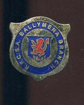 Glasgow Rangers Gers Ballymena Supporters Club Pin Badge