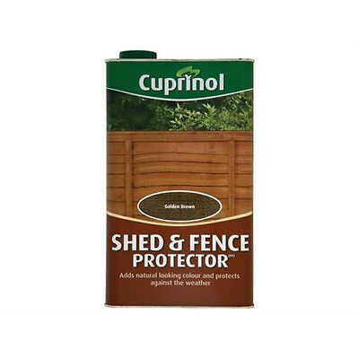 Cuprinol Shed and Fence Protector - Golden Brown 5L