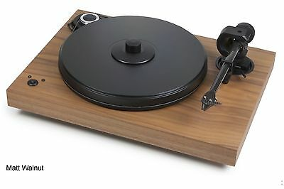 Pro-Ject 2Xperience SB Audiophile Walnut Turntable 2M Silver Cartridge -Like New