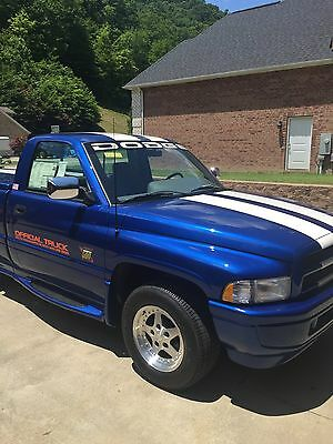 1996 Dodge Ram 1500  1996 Dodge Ram  1500 (OFFICIAL TRUCK OF THE INDY 500 )