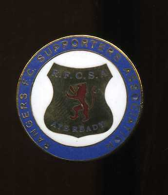 Glasgow Rangers Gers Supporters Club Pin Badge lot6