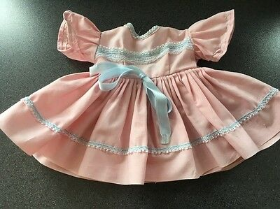 PINK DRESS FOR DOLL (tiny tears etc)
