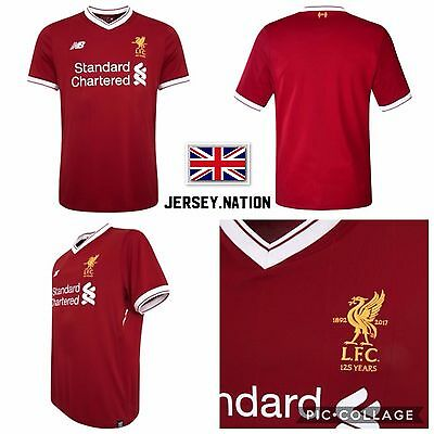 NEW LIVERPOOL HOME FOOTBALL SHIRT 2017/18 – UK SELLER – 1st CLASS DELIVERY