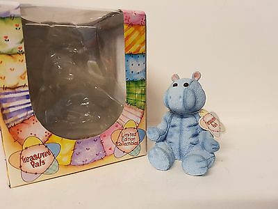 Hugo Hippo #5027 Treasured Pals Limited Edition Collectable Boxed