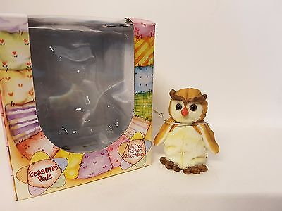 Barney Owl #5030 Treasured Pals Limited Edition Collectable Boxed