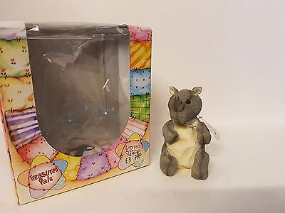 Stamp Rhino #5128 Treasured Pals Limited Edition Collectable Boxed