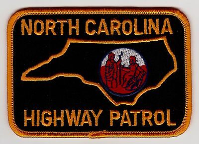 North Carolina Highway Patrol Police Patch Never Used Clean Free Shipping