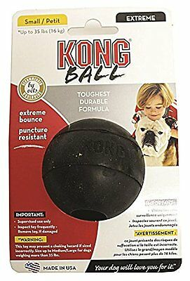 Kong Extreme Dog Ball Toy Nearly Indestructible Stuffable Heavy Duty Pet Made