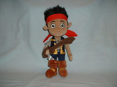 JAKE AND THE NEVERLAND PIRATES Large Cuddly Soft Plush Toy (DISNEY/PETER PAN)