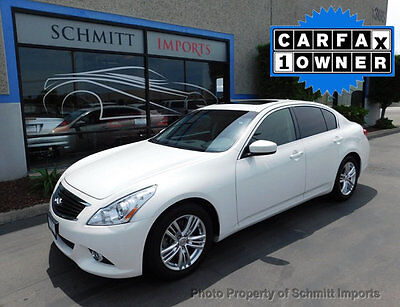 2013 Infiniti G37 4dr Journey RWD 2013 Infiniti G37 Journey, 1-Owner, Only 34k Miles, Super Clean Car!