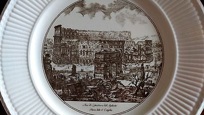 Wedgwood PIRANESI PLATES Dinner Plate-The Arch of Constantine and the Colosseum