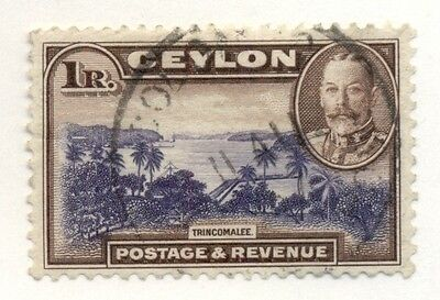 CEYLON #274 Used, Scott $24.00