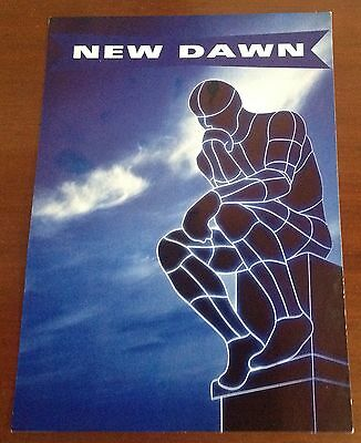 a new dawn rave flyer