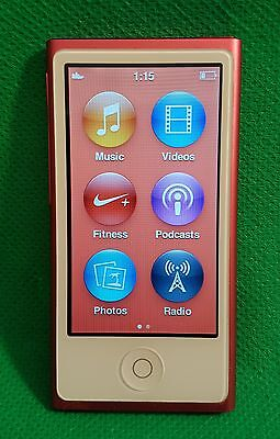 Apple iPod nano 7th Generation Pink (16GB) Model A1446 (od)