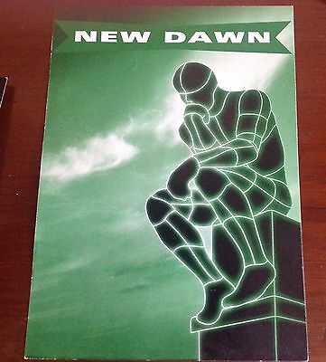 a new dawn rave flyer Manchester