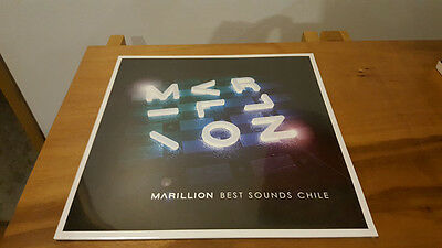 Marillion ‎– Best Sounds Chile LP Vinyl Record Scare Unique Pressing.