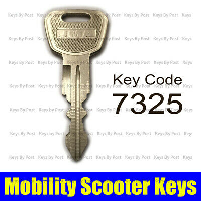 7325 Replacement Key For Komfi Rider Liberty Aerolite Plus Mobility Scooter