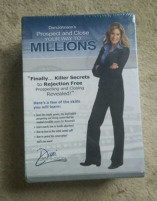 Dani Johnson Prospect and Close Your Way to Millions- BRAND NEW, unopened