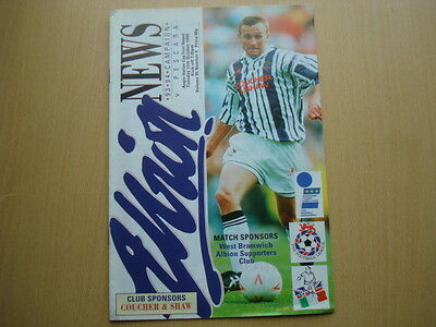 West Bromwich Albion V Pescara Oct 1993
