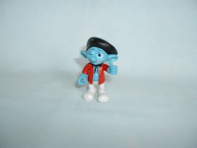 THE SMURFS PAINTER Jointed Action Figure Toy (PEYO/JAKKS/2/GRABEMS/MOVIE/FILM)