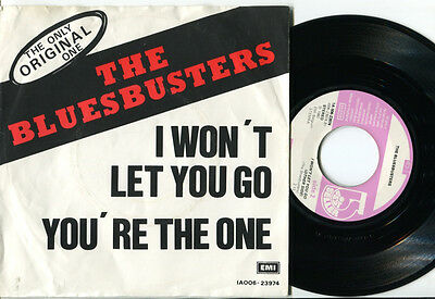 BLUESBUSTERS - I Won't Let You Go / You're The One 45 SKA BLUEBEAT 80 BELGIAN PS