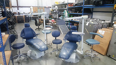 Used: DCI Operatory Dental Bundle! Dental chairs, stools, and lights included!