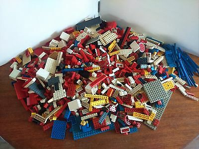 Vintage Lego 4.5kg Unsorted Loft Find Includes vintage Train Tracks