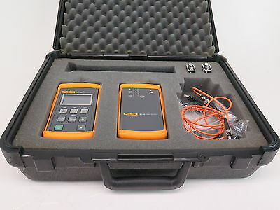 Fluke FTK200 Optical Fiber Test Kit w/ FM150 and FS150