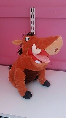 Disney Store PUMBA from The Lion King plush soft toy