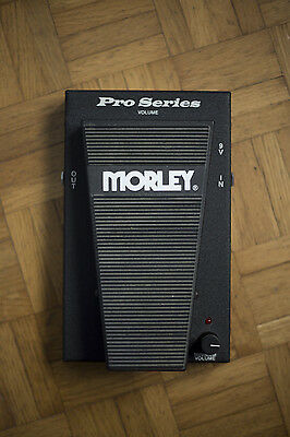Morley Volume pedal Pro Series 90s - Effect Guitar Bass - AMAZING  never gigged