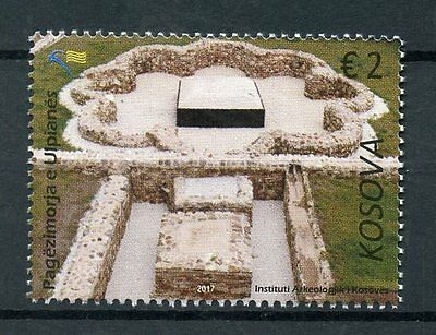 Kosovo 2017 MNH Ulpiana Ancient Baptistry 1v Set Architecture Archaeology Stamps