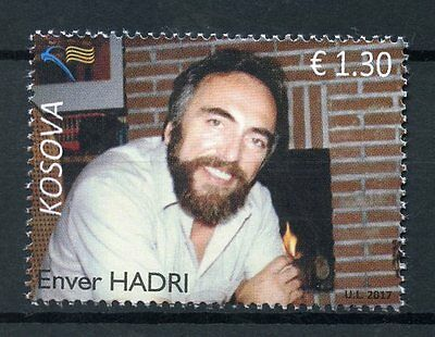 Kosovo 2017 MNH Enver Hadri Human Rights Activist 1v Set Stamps
