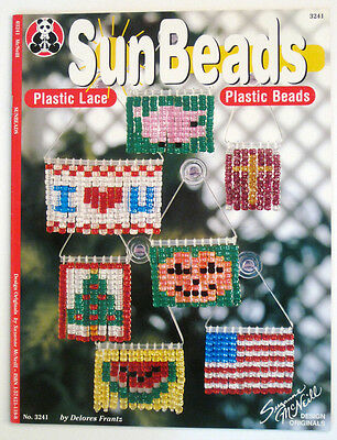 SunBeads Beaded DIY Sun Catchers Fun for All Ages 35 Patterns Instruction Book