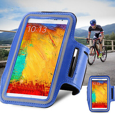 "Armband phone holder Sports Gym Jogging Running 6.5"" x 3.7"" for 4s 5s 6s se 6+"