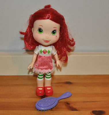 Strawberry Shortcake Doll Scented Hair 2008 Hasbro Approx 26cm Tall Kids Toy