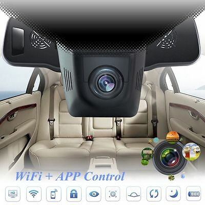 WiFi 1080P Car DVR Hidden Night Vision Camera Video Recorder Dash Cam G-Sensor