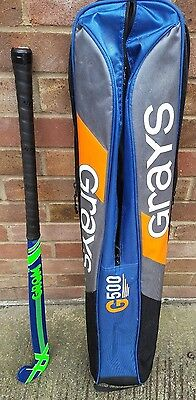 """Gryphon Grom 35"""" hockey stick with Grays G500 shoulder carry bag Sport Activity"""