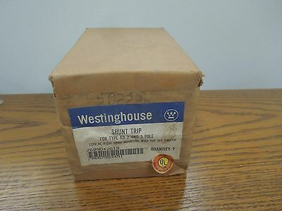 Westinghouse Shunt Trip 2609D42G19 120V 50/60Hz for JB KB HKB Frame Breakers New