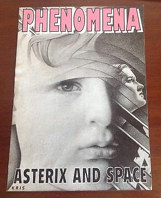 Phenomena Asterix And Space  Rave Flyer