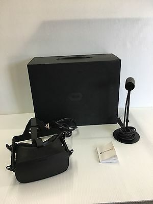Oculus Rift VR Headset and Sensor Only with Box