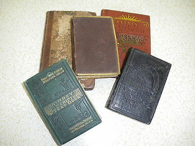 Antique Prayer Religious Books