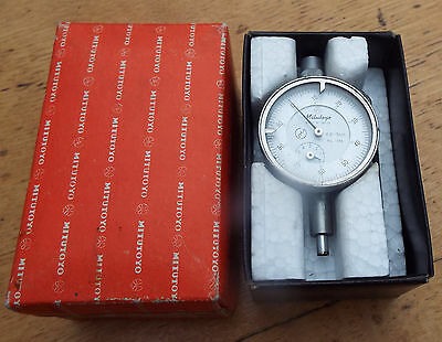 Mitutoyo Dial Indicator Gauge  No.1044E 0.01Mm Grad - 5Mm Range Made In Japan