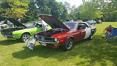 1970 AMC Javelin Trans am 1970 AMC Real Trans Am Javelin 1 0F 100 built 2nd last one built in October 1969